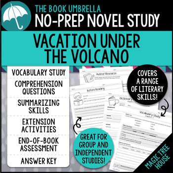 Vacation Under the Volcano - Magic Tree House