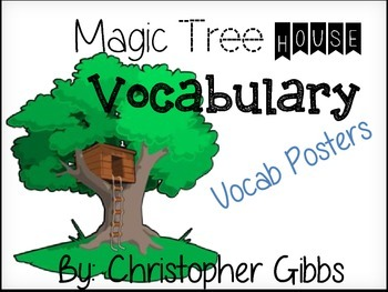 Magic Tree House Vocabulary Posters (29 Books)