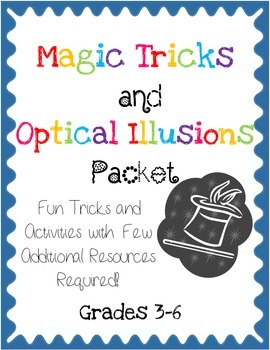 Magic Tricks and Optical Illusions Packet