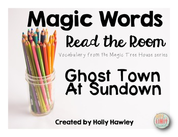Magic Words-Read the Room Wild West Theme