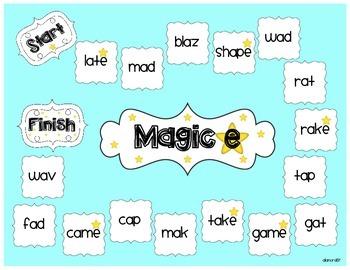 Magic e Board Game (Long a)