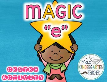 "Magic ""e"" Center Activity Freebie"