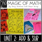 Magic of Math 2nd Grade Month 2:  Addition & Subtraction (Facts & No Regrouping)