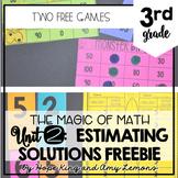 3rd Grade Magic of Math FREEBIE:  Estimating Solutions