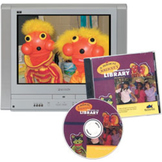 Magical Journey Through the Library DVD