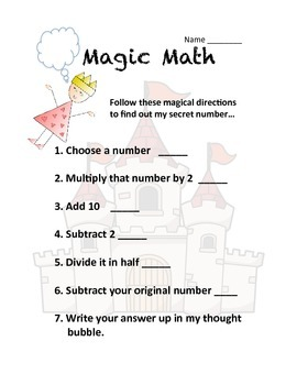 Magical Math - perseverance and accuracy, quickly and easily
