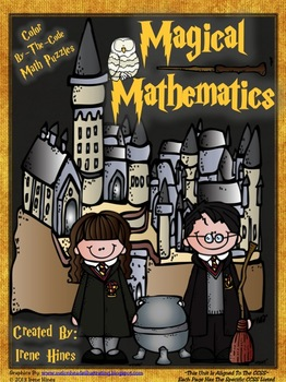 Magical Mathematics ~ Color By The Code Math Puzzle Printables