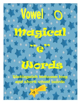 """Magical """"e"""" Game:  Distinguish Between Long and Short Vowel o"""