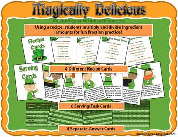 Magically Delicious Multiplying & Dividing Fractions St. Patrick