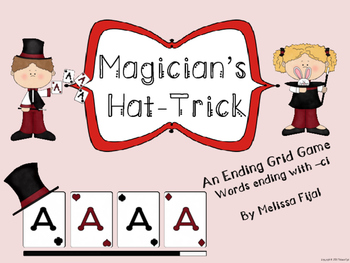 Magician's Hat-Trick - An Ending Grid Game -ci