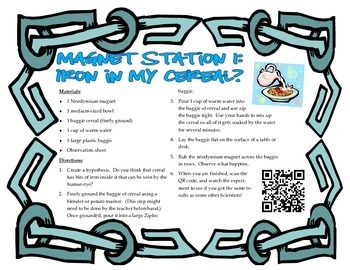 Magnet Experiments for Interactive Notebook