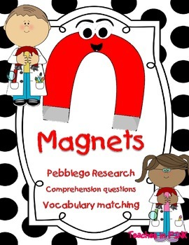 Magnets (Pebblego comprehension questions and vocabulary)