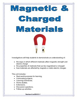 Magnetic & Charged Materials