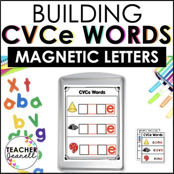 CVCe (Silent e) Magnetic Letter Center