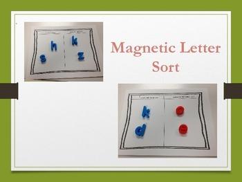 Magnetic Letter Sort