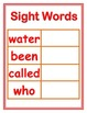 Cookie Sheet Magnetic Sight Words Fry Words 4