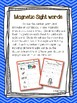Magnetic Sight Words! {Fry List 101 - 200}