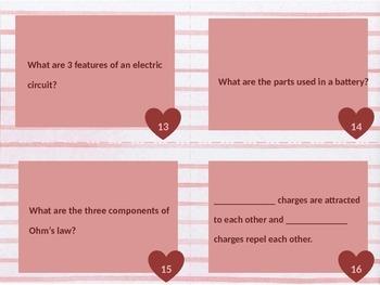 Magnetism Electricity Task Cards
