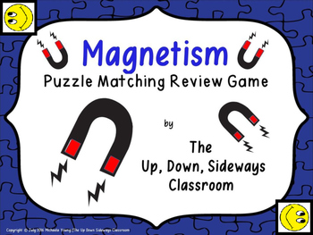 Magnetism Puzzle Matching Review Game