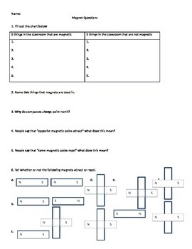 Magnetism Questions