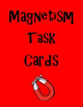 Magnetism Task Cards (20 cards)