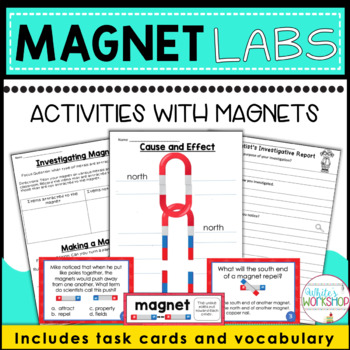 Investigating Magnets - Labs and Task Cards