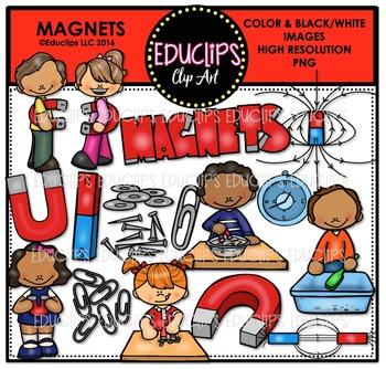 Magnets Clip Art Bundle