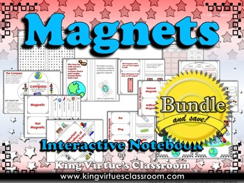 Magnets: Interactive Notebook BUNDLE - Natural Artificial,