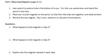 Magnets Mini Labs