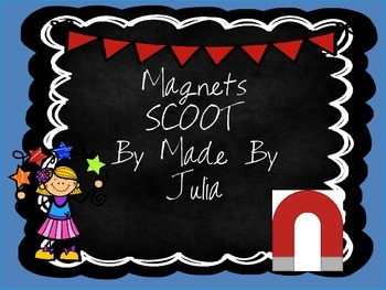 Magnets Scoot- Great for GA Milestone!