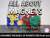 Magnets Unit (Signs, Activities, & Sorting Picture Cards) K-2