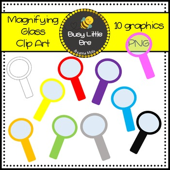 Magnifying Glass Clipart - Freebie!