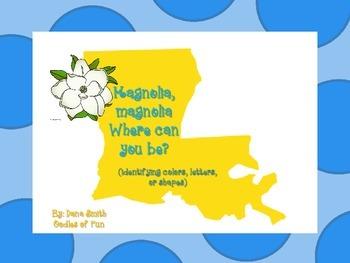 Magnolia where are you hiding? (La game that id colors, le