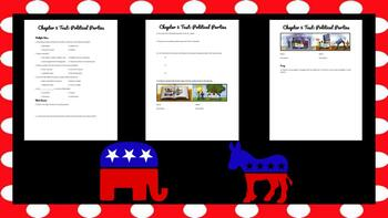 Magruder's American Government Chapter 5 Test: Political Parties
