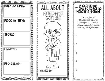 Mahatma Gandhi - Human Rights Activist Biography Research Project