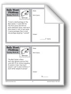 Mail Center (Grade 4 Daily Word Problems-Week 33)