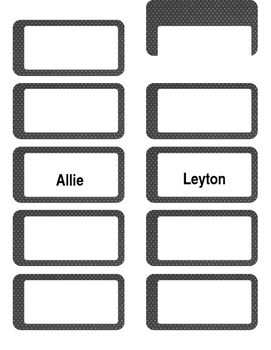 Mailbox Labels