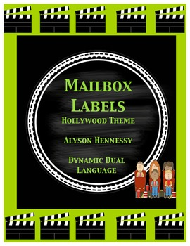 Mailbox Labels (Hollywood Theme) FREEBIE