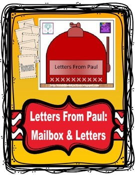 Mailbox & Letters From Paul Free Project