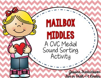 Mailbox Middles: A Valentine CVC Activity