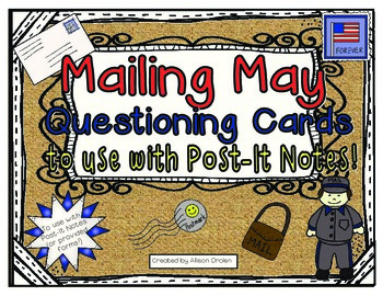 Mailing May Questioning Cards to use with Post-It Notes!