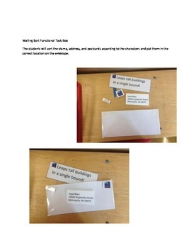 Mailing Sort Functional Work Task