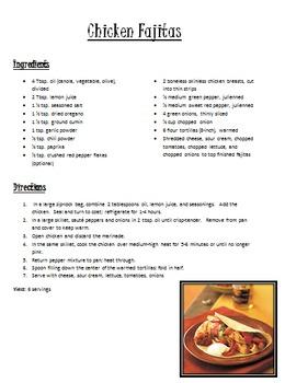 Main Dish Recipes Pack 2