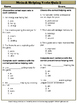 Main & Helping Verbs Quizzes - Common Core