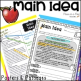 Main Idea Activities Color Coding Non Fiction Reading Passages