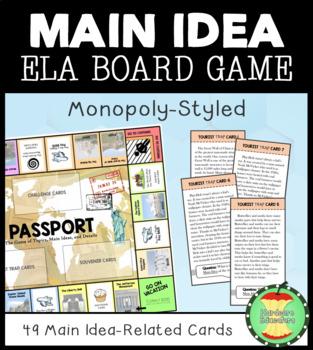 Main Idea Board Game