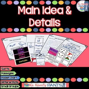 Main Idea Common Core Style