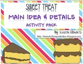 Main Idea & Details Activity Pack