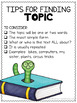 Main Idea FREEBIE ~ Reading Comprehension Anchor Charts ~