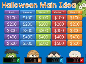 Main Idea - Halloween